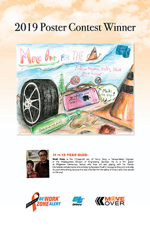 Poster creator winner 11 to 13 Years Old - Noah Fang Art