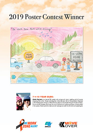 Poster creator winners 7 to 10 Years Old - Alexis Serrano Art
