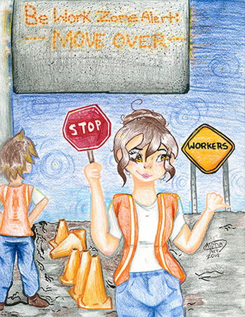 Honorable Mention winners 11-13 Years Old - Anyssa Valles